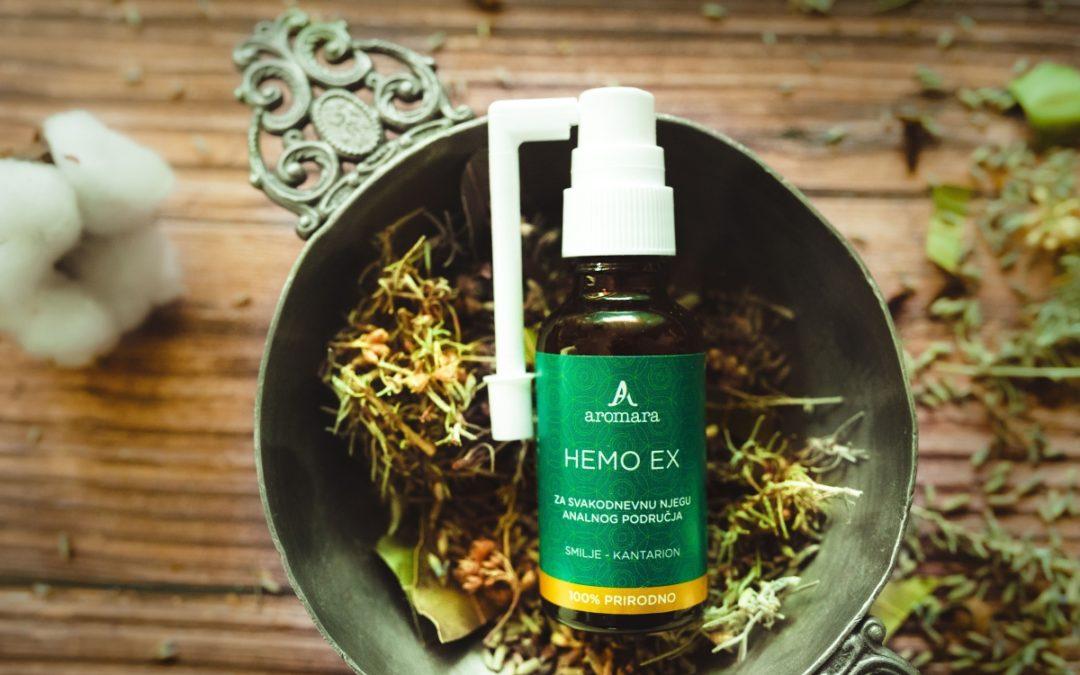 HEMO EX: Prirodna pomoć kod hemoroida